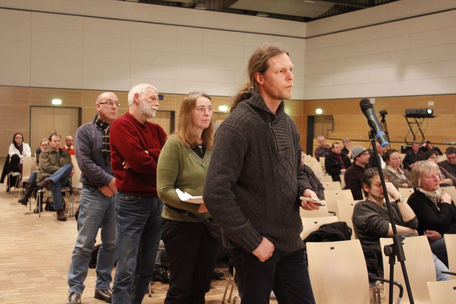 Lex Asse – Informationsveranstaltung mit Mitgliedern des Bundestages in der Lindenhalle