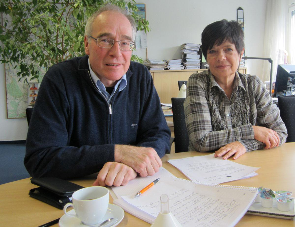 Claus Jürgen Schillmann und Regina Bollmeier